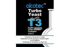 Дрожжи спиртовые турбо Alcotec Turbo 3